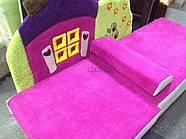 Детский диван с нишей для ребенка Теремок - розовый цвет, фото 5