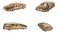 Деревянный 3D-пазл РЕЗАНОК Автомобиль Hyundai 120 элементов