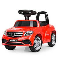Электромобиль детский Mercedes-Benz M 4065EBLR-3(2) с пультом управления, MP3, 2 мотора 15W, колеса EVA