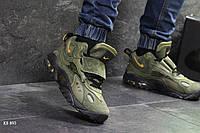 Мужские кроссовки в стиле Nike, хаки 41(26,6 см), размеры:41,43