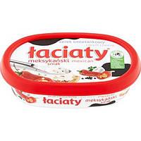 Сыр сливочный Laciaty meksykański smak с чесноком и перцем, 135 г