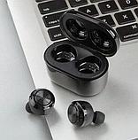 Беспроводные вакуумные Bluetooth наушники Air Twins A6 TWS гарнитура с боксом для зарядки, фото 3