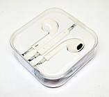 Проводные наушники Apple EarPods гарнитура для смартфона айфона, фото 5