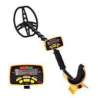 Металлоискатель Discovery Tracker MD-6350 Черный с желтым