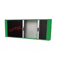 Полка для верстака 1560х200х603 мм, 20 держателей, Toptul TAAD1602