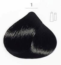 Стойкая крем-краска DUCASTEL Subtil Creme 1 - чёрный, 60 мл