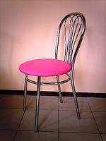 Стул для кухни, кафе VENUS chrome/кожзам, фото 1