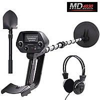 Металлоискатель Discovery Tracker MD-4030 + лопата + наушники
