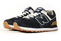 Женские кроссовки в стиле New Balance Нью беланс 574, синие 37 (23,3 см), KW - 16829