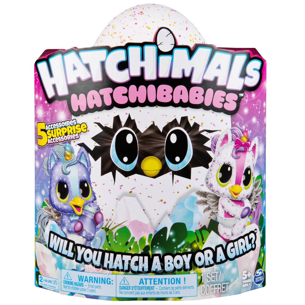 Хэтчималс Хетчибейбиз Юникет Spin Master / Hatchimals HatchiBabies Unikeets Hatching Egg