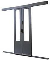 Система раздвижных дверей, применяемых для коридоров в Data Box ZPAS