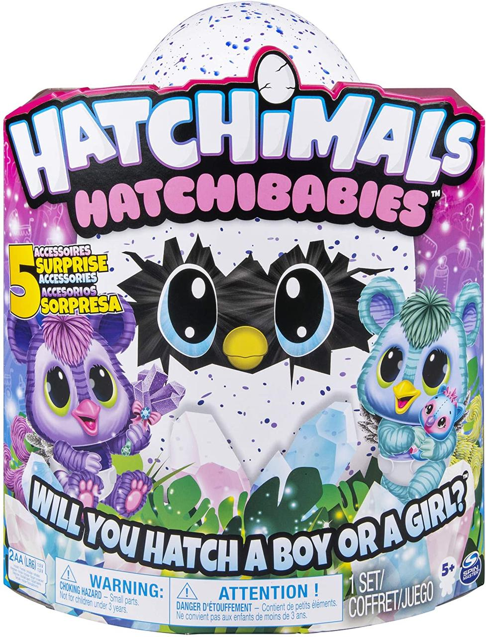 Хэтчималс Хетчибейбиз Китси Spin Master / Hatchimals HatchiBabies Kitsee Hatching Egg