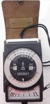 Фотоэкспонометр ленинград 7, фото 2