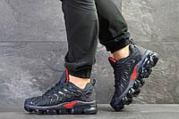 Мужские кроссовки в стиле Nike Найк Air Vapormax Plus, синие с красным 44 (28,3 см), Д - 7727