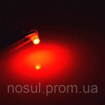 T4.7 Led Canbus (3030 SMD) светодиодная лампа автомобильная (цвет КРАСНЫЙ) светодиод панель приборов подсветка