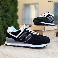 Женские кроссовки в стиле New Balance Нью беланс 574, пена, черные 36 (23 см), ОД - 20233