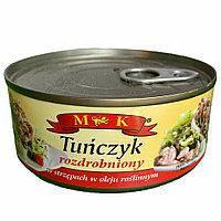 Тунець MK салатний в рослинній оліі 170г польща