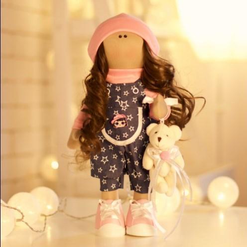Подарки, мягкие игрушки, куклы-тильды. Текстильная куколка МА ША :)