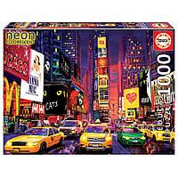 """Неоновий пазл """"Таймс-сквер"""", 1000 елементів Educa (8412668184992), фото 1"""