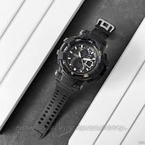 Часы наручные черные Casio G-Shock GW-A1100 All Black New / касио джишок черные с белым, фото 2