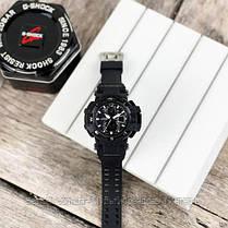Часы наручные черные Casio G-Shock GW-A1100 All Black New / касио джишок черные с белым, фото 3