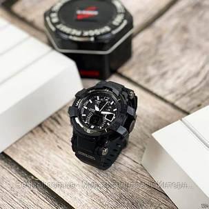 Годинники наручні чорні Casio G-Shock GA-300 Black-Red / касіо джишок чорні з червоним, фото 2