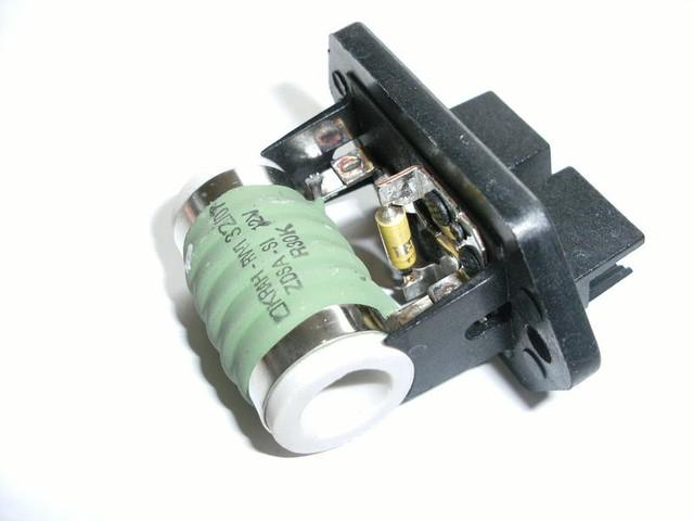 Резистор дифузора Fiat Doblo 1.9D