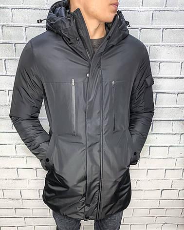 Парка\Куртка Raf Черный, фото 2