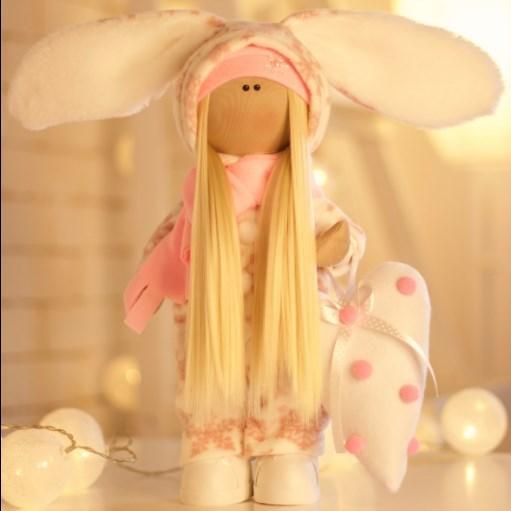 Подарки, мягкие игрушки, куклы-тильды. Текстильная куколка БОНЯ :)
