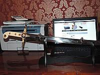 АНГЛИЙСКАЯ САБЛЯ СТАРШИХ ОФИЦЕРОВ ОБРАЗЦА 1831 года. / Американская парадная офицеров ВМФ США, 1859 года.