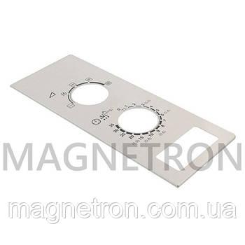 Декоративная часть панели управления для СВЧ-печей Zanussi 4055252193