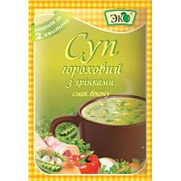 Эко Суп гороховый со вкусом Бекона 18г