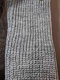 Мужской теплый шерстяной свитер Timoti отличного качества Турция Кофейный, фото 2