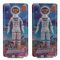 Лялька DEFA 8460-BF космонавт, 2 кольори, лист, 15,5-33-6 см.