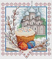 Набор для вышивки крестом М.П.Cтудия М-057 «Пасхальный звон»