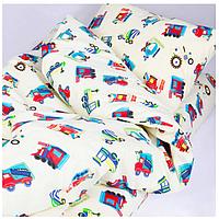 Комплект постельного белья детский ранфорс 20123