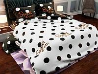 Семейный набор хлопкового постельного белья из Бязи Gold 157480AB Черешенка BC4G157480AB, КОД: 1891469