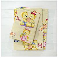 Комплект постельного белья детский ранфорс 4457