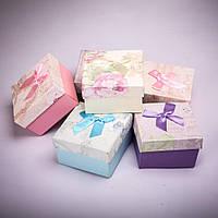 Подарочная коробочка для украшений и часов с подушечкой [9/9/6 см] 6 шт.