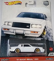 Машинка Хот Вилс коллекционная Hot Wheels '87 Buick Regal GNX