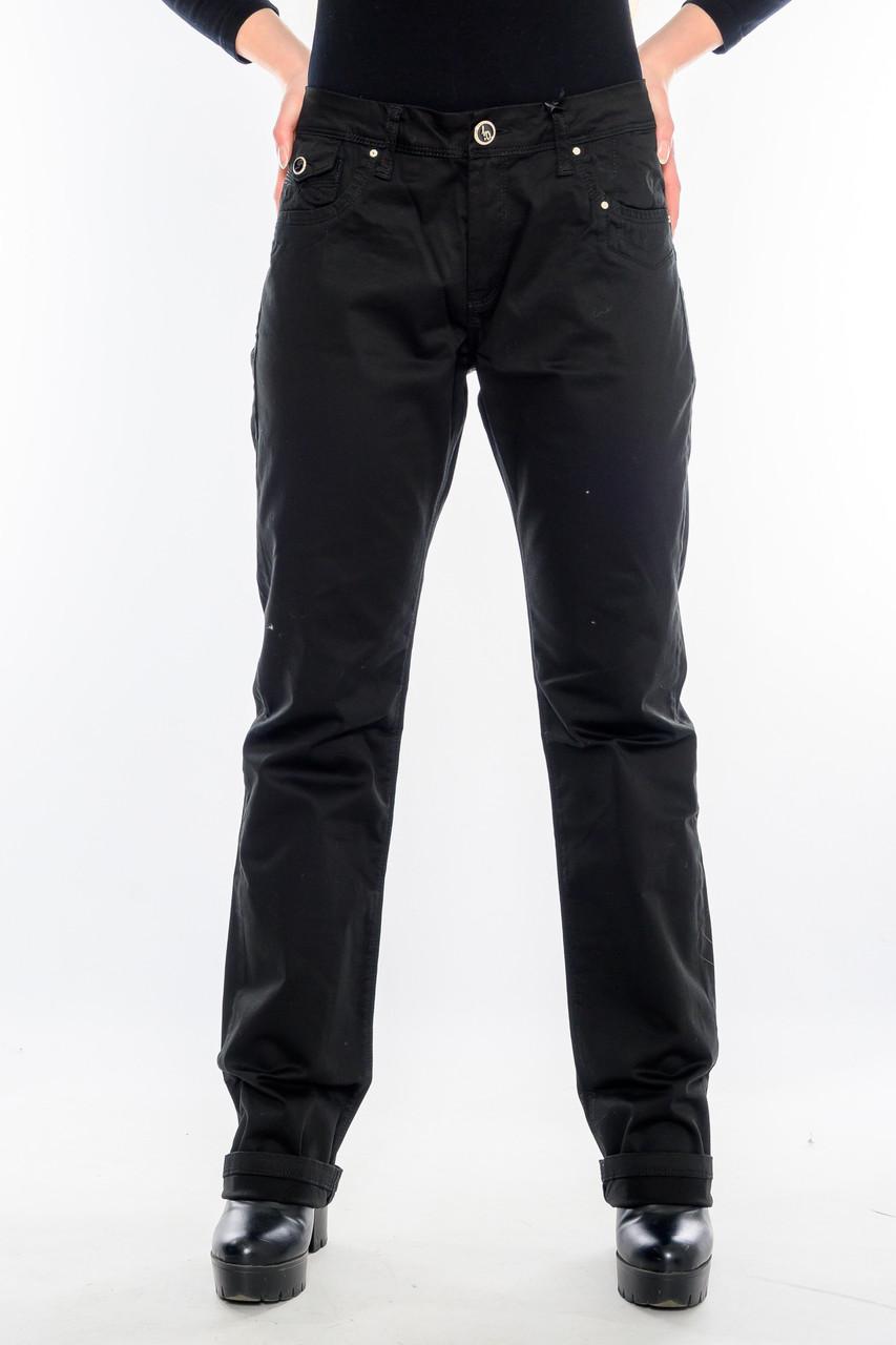 Женские брюки OMAT 9834 чёрные