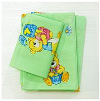 Комплект постельного белья детский ранфорс 6112
