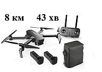 Квадрокоптер Hubsan Zino Pro Plus + сумка +акумулятор 5000мАг, 8KM 4К, 43ХВ+43ХВ польоту,
