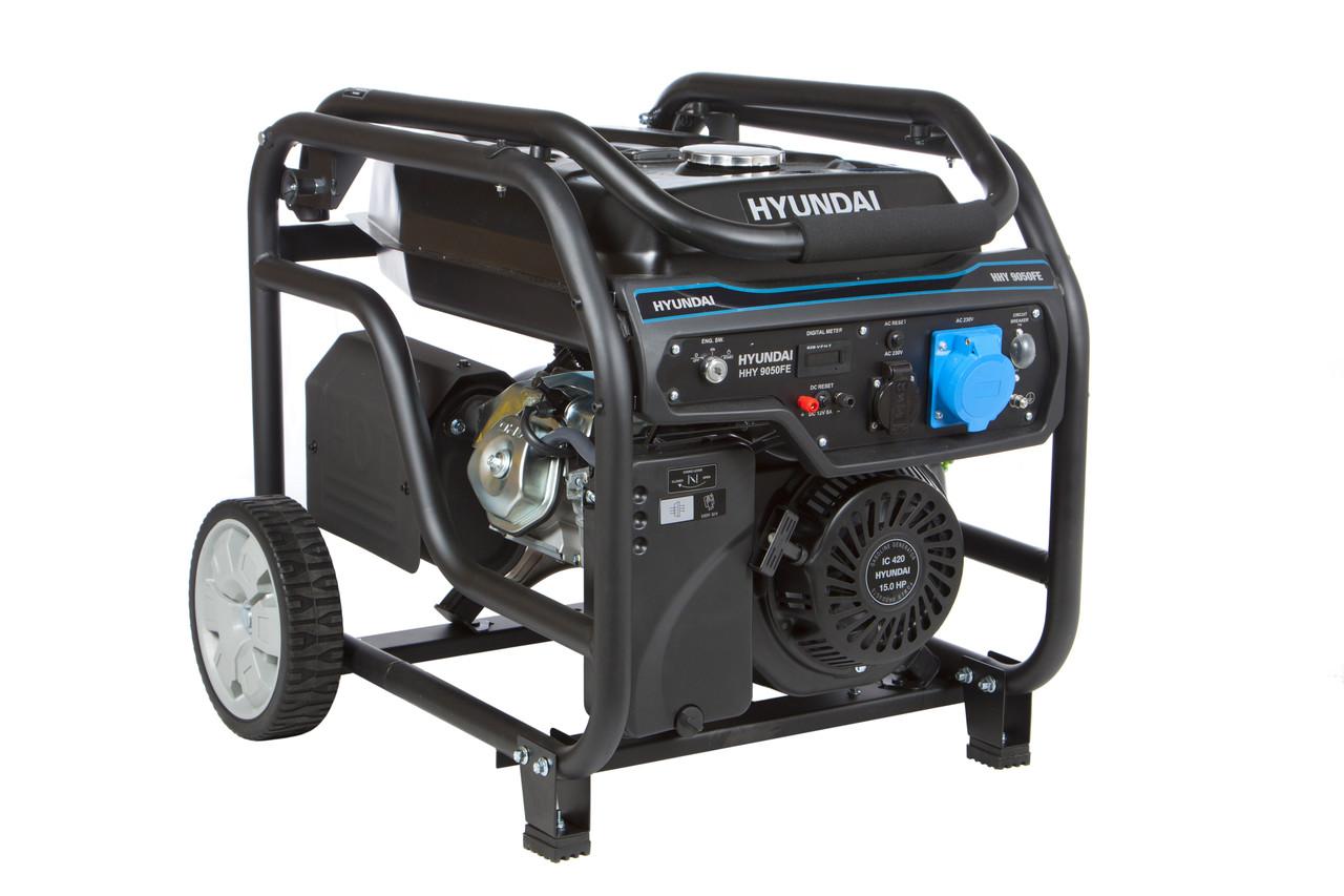 Генератор бензиновий Hyundai HHY 9050FE-T