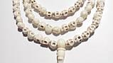 Четки из кости 108 бусин (черепа), фото 2