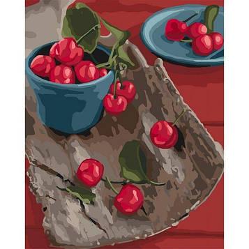 Картины по номерам 40*50 см. Идейка (без коробки) Спелые вкусняшки (КНО 5582)