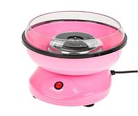 Аппарат для приготовления сладкой сахарной ваты маленький Candy Maker в домашних условиях Розовый