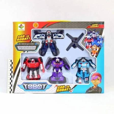 Набор трансформеров Tobot 83168-TB4, фото 2