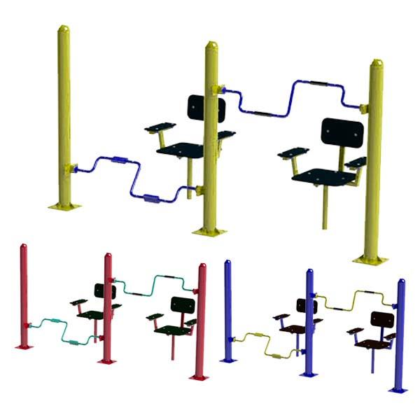 Уличный тренажер для мышц рук и ног SG121