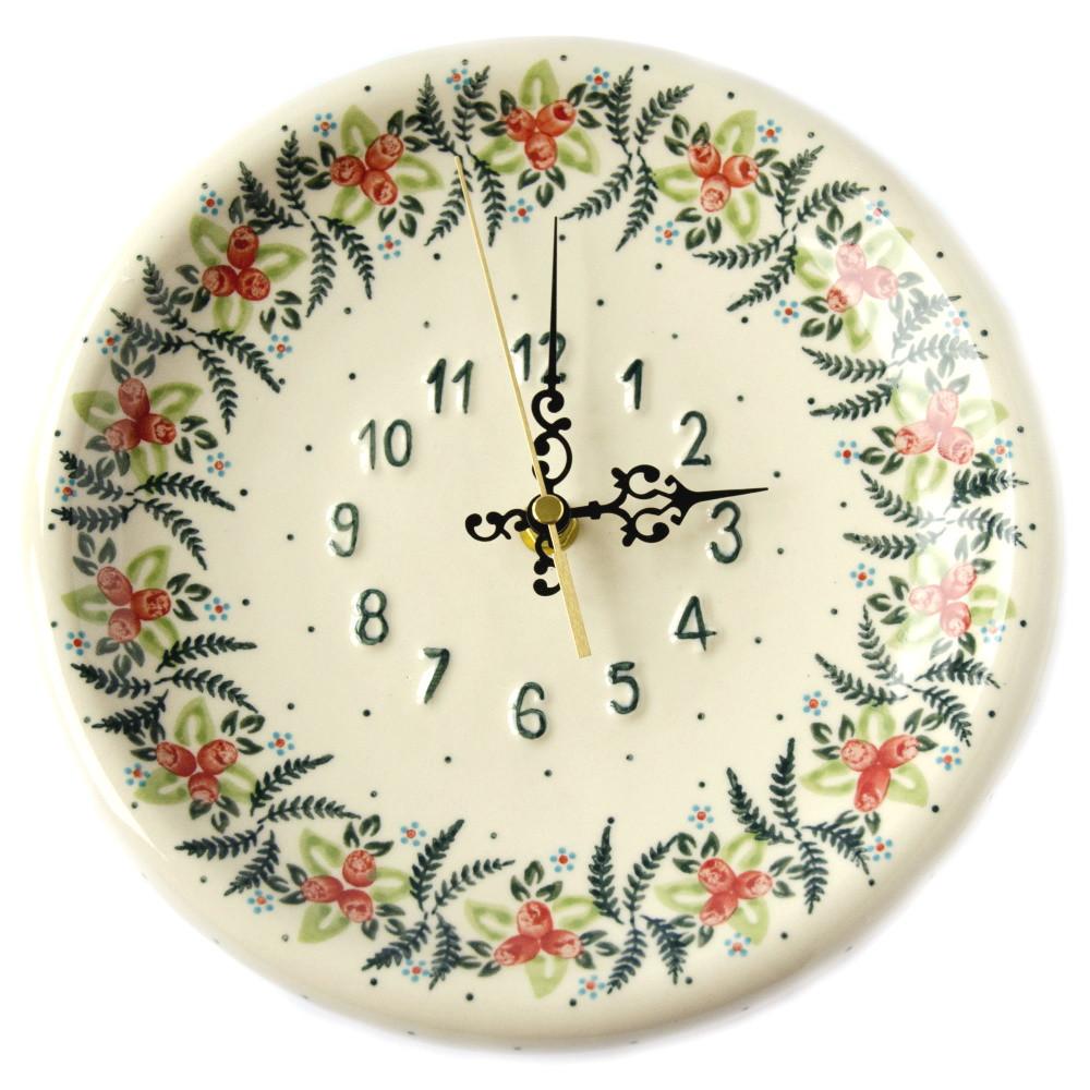 Часы настенные керамические 24 Cowberry
